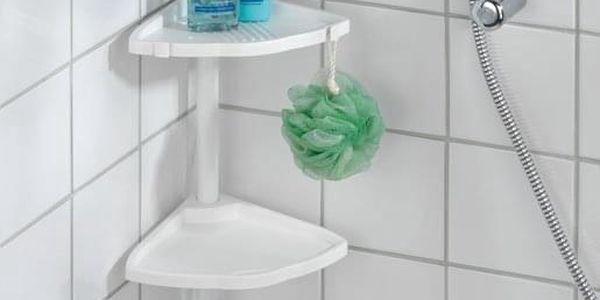Koupelnová poličkaXXL, rohová - 4 úrovně, WENKO2