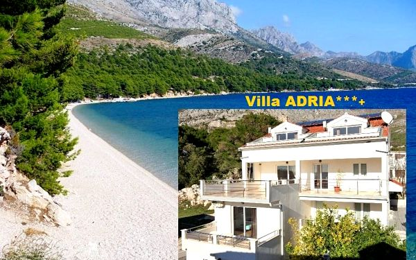 Chorvatsko levně Makarská Živogošče luxusní Villa ADRIA, dopr..., Živogošće
