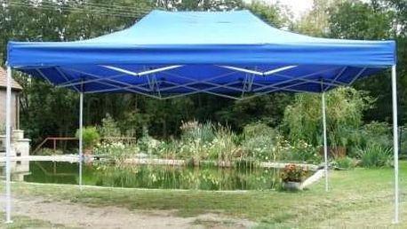 Tradgard CLASSIC 40980 Zahradní párty stan nůžkový - 3 x 4,5 m modrý