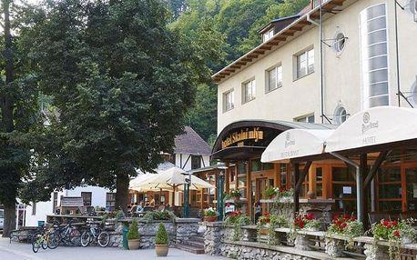 Blansko - Hotel SKALNÍ MLÝN, Česko