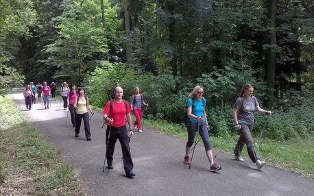 Nordic Walking - 4hodinový základní kurz