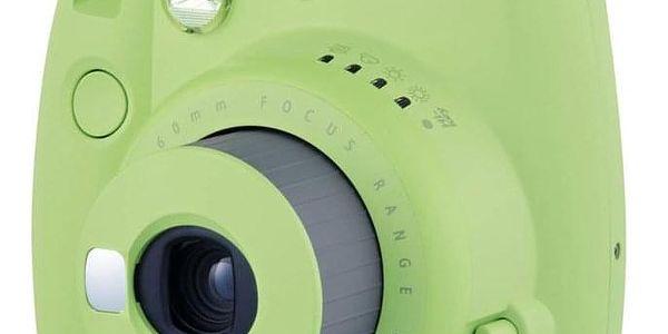 Digitální fotoaparát Fujifilm Instax mini 9 + pouzdro zelený2
