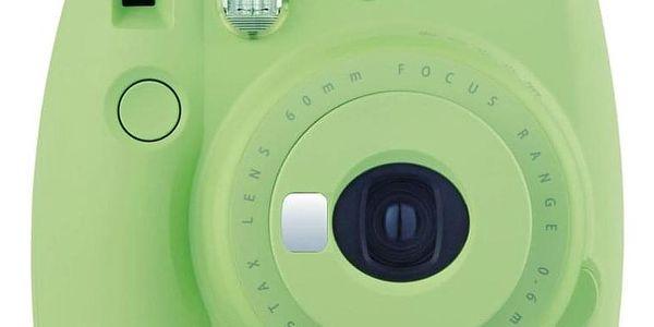 Digitální fotoaparát Fujifilm Instax mini 9 + pouzdro zelený3