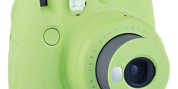 Digitální fotoaparát Fujifilm Instax mini 9 + pouzdro zelený4