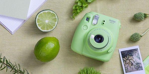 Digitální fotoaparát Fujifilm Instax mini 9 + pouzdro zelený5