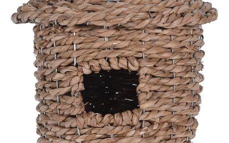 Koopman Proutěná ptačí budka, 28 cm