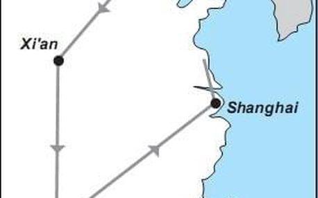 To nejlepší z Číny, Východní Čína