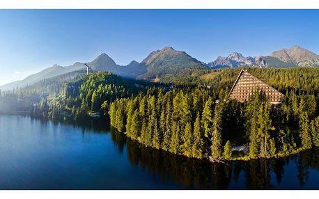 Sleva na exkluzivní tatranský hotel u Štrbském Plese s nejkrásnějším výhledem na Vysoké Tatry, Vysoké Tatry