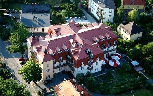 ADAM & SPA - Kudowa Zdrój, Polsko, vlastní doprava, polopenze3