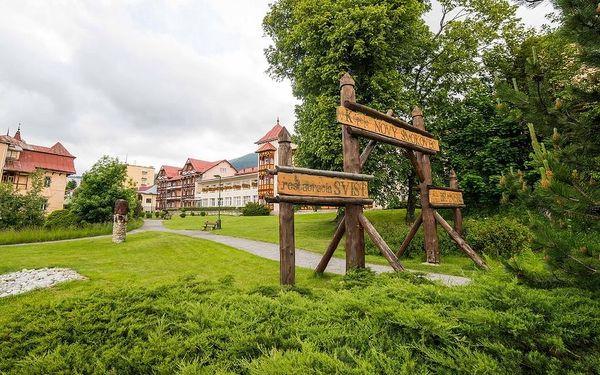 Relaxační pobyt v lázních s 1 procedurou denně, Vysoké Tatry