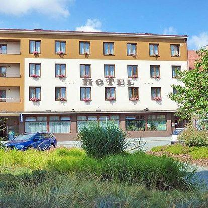 Vysočina v hotelu v centru města Chotěboř s polopenzí