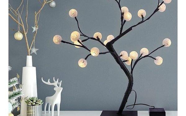 DecoKing Světelný stromek Bonsaj teplá bílá, 24 LED2