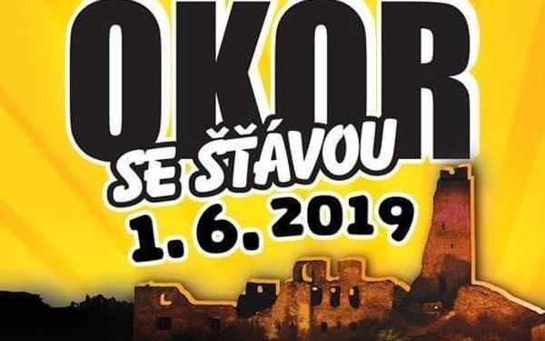Vstupenka na 21. ročník open-air festivalu v romantickém podhradí Okoře4