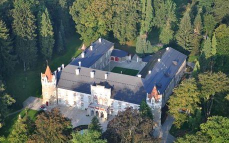 Kouzelná noc na zámku Chateau Herálec