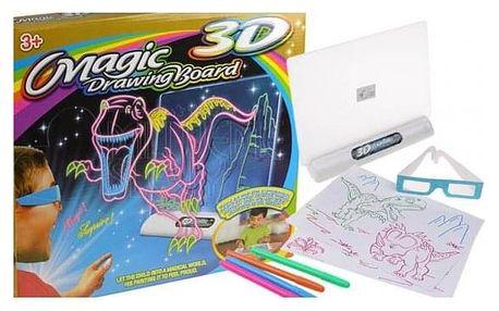 Magická kreslící 3D tabulka
