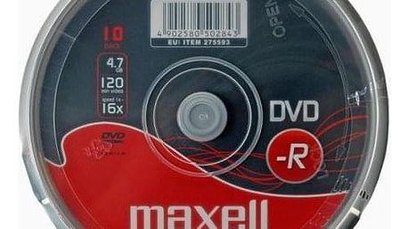 MAXELL DVD-R 4,7GB 16X 10 KS