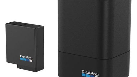 Nabíječka GoPro Dual Battery Charger + Battery černá (AADBD-001)