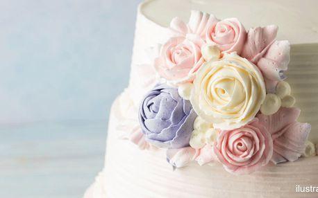 Zdobení a potahování dortů či modelování květin