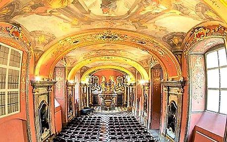 Červnové koncerty v Zrcadlové kapli Klementina. V podání Dvořák Symphony Orchestra Prague.