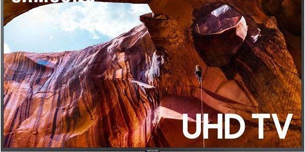 """Smart televize Samsung UE50RU7402 (2019) / 50"""" (127 cm) + Hokejový dres v hodnotě 990,- ZDARMA!"""