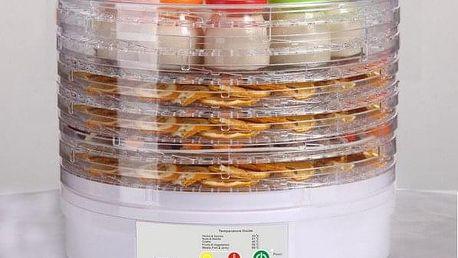 Sušička potravin s jogurtovačem Guzzanti GZ 710, 5 plátů