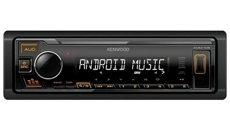 KENWOOD KMM-105AY černé
