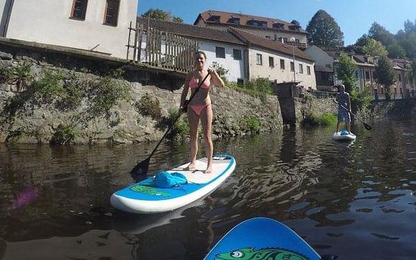 Výlet na paddleboardu pro dva | Český Krumlov | Duben - srpen. | 1,5 hodiny.3