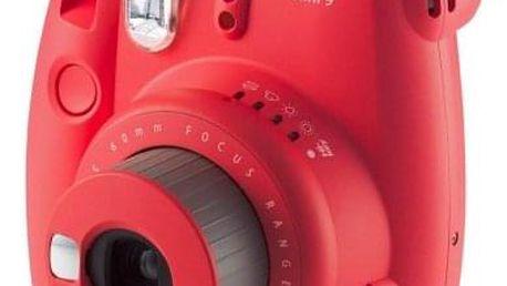 Fotoaparát Fujifilm Instax MINI 9, červená