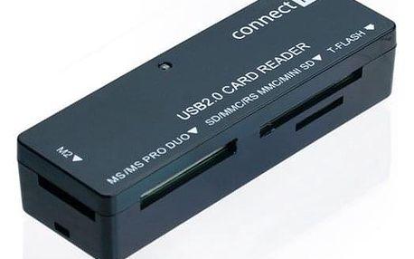 Čtečka paměťových karet Connect IT ULTRA SLIM (CI-56)
