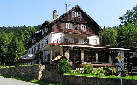 Orlické hory v horské chatě Orlice s polopenzí a dítětem do 10 let zdarma