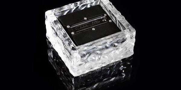 Nexos 55824 solární osvětlení - cihla 4 LED bílá 9,5 x 9,5 x 4,5 cm2