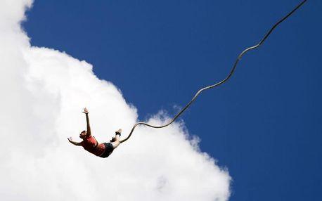 Extrémní bungee jumping Brno