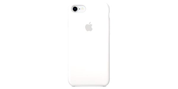 Kryt na mobil Apple Silicone Case pro iPhone 8/7 bílý (MQGL2ZM/A)