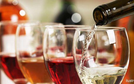 Otevřený voucher do vinárny na Grohově ul.