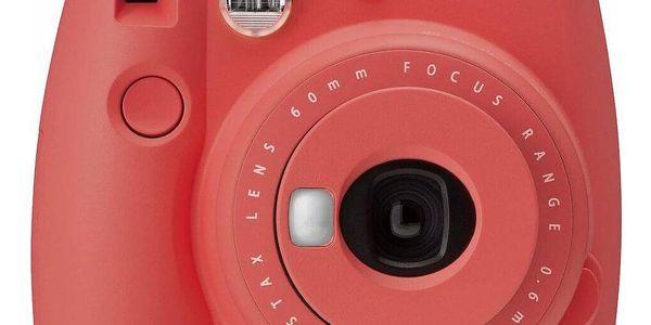 Digitální fotoaparát Fujifilm Instax mini 9 + pouzdro červený4