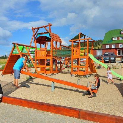Ubytování ve Špindlu s all inclusive, wellness a dítětem do 10 let zdarma