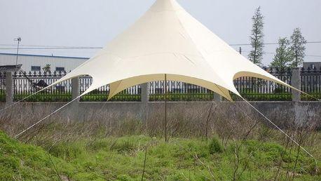 Tradgard 54653 Stínící zahradní přístřešek - 3,5 x 3,5 x 3,6 x 4 m