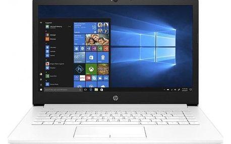 "Notebook HP 14"" Intel Celeron 4GB, 64GB, bílý 4XX13EA"