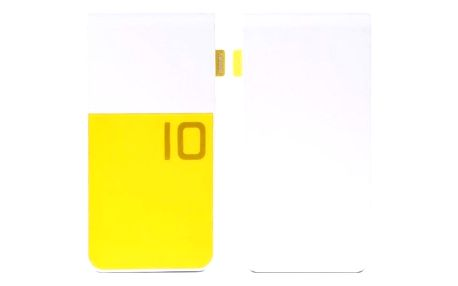 Powerbanka Remax COLOR 10000mAh, bílá/žlutá
