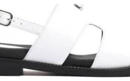 Dámské bílé sandály Bruna 9273
