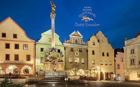 Jižní Čechy: Hotel Zlatý anděl
