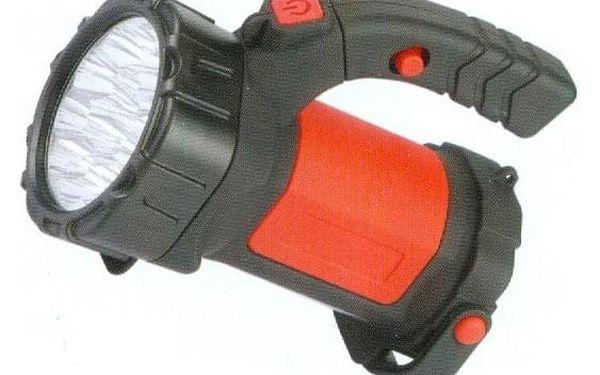 Ruční svítilna S-2112 nabíjecí 3W Li-ION 3,7V/2000mAh