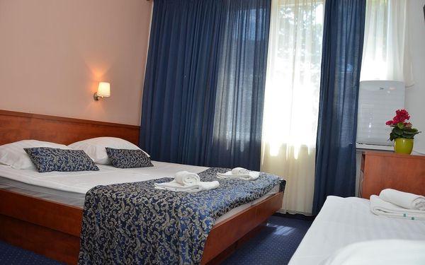 Dvoulůžkový pokoj Comfort s manželskou postelí/oddělenými postelemi a výhledem do zahrady - vedlejší budova5