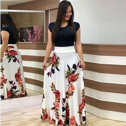 Dlouhé dámské šaty Mirella
