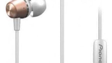 PIONEER SE-QL2T-P sluchátka / růžová