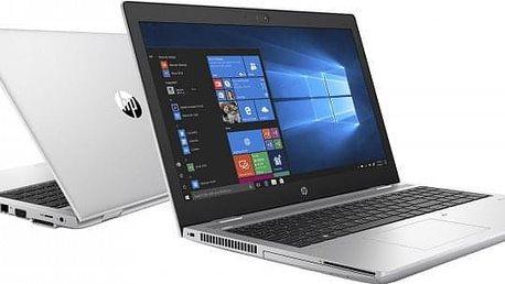 "Notebook HP ProBook 650 15,6"" i5 8GB, SSD 256GB, 3UP84EA +ZDARMA ""Antivir Bitdefender Plus"" v hodnotě 1 199 Kč"