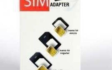 Adaptér na SIM kartu 3v1 WG