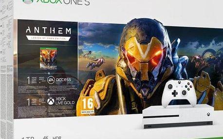XBOX ONE S 1 TB + Anthem: Legion of Dawn Edition