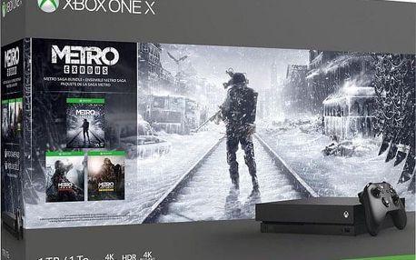 XBOX ONE X 1 TB + Metro Trilogy Bundle