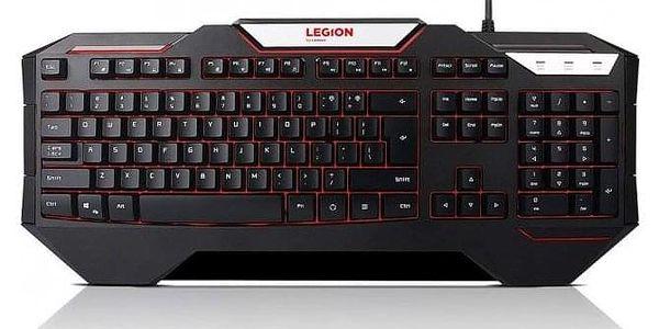 Lenovo Legion K200 Backlit Gaming Keyboard - CZ&SK